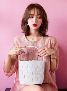[임블리]컬러풀 버킷가방