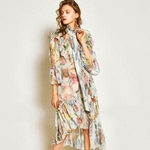 STUDIO SYZ Gecko Unbalanced Dress