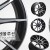 [19인치]벤조 에볼루션(멧블랙폴리쉬) PCD114.3 +38/+42 5H-튜닝휠,레이싱휠,벤조휠