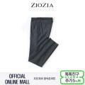 (지오지아/ZIOZIA) 허리 오비배색 포인트 슬랜더핏 밴딩 슬랙스(AAX1PP1103/차콜그레이)