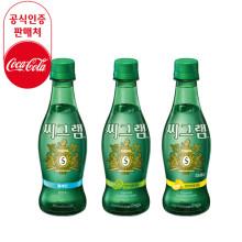 코카콜라 플레인탄산수 씨그램 350ml 레몬,라임,플레인 20입 24입
