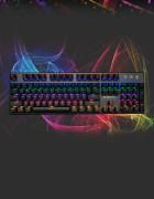맥스틸 TRON G610K RAINBOW 기계식키보드 청/적/흑/갈축 오테뮤축