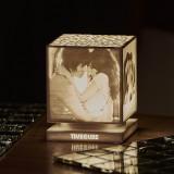 [3D프린팅 조각 무드등 타임큐브] 내 사진으로 만드는 단 하나뿐인 감성 조명(스탠다드형)