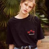 써틴먼스 17ss holic month t-shirtsblack