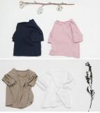 투 포켓 반팔티셔츠/아동 유아 데일리 티