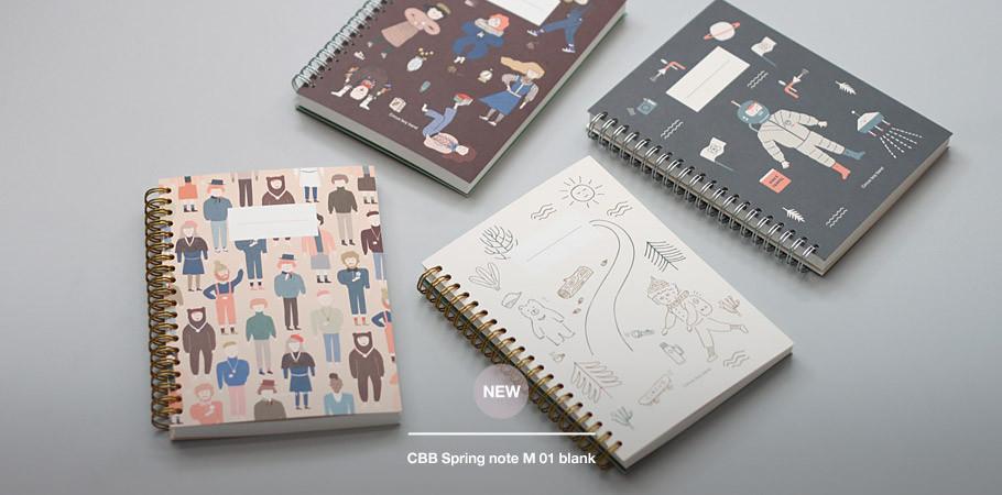 CBB Spring note M 01 blank