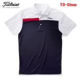 타이틀리스트 골프웨어 남성 골프티셔츠 딤풀 메쉬컬러 블록 투어셔츠 남자 골프의류 TSMC1720 티디샵