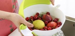 회전볼채반 회전채반 야채채반 채반소쿠리 분리형채반 채반 채반바구니 소쿠리