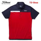 타이틀리스트 남성 골프티셔츠 딤풀 메쉬컬러 블록 투어셔츠 골프웨어 남자 골프의류 TSMC1720 티디샵
