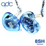 qdc 8SH 8BA HiFi Sound 커스텀이어폰 가수인이어 고음질이어폰