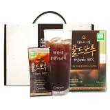 공정무역 유기농 콜드브루커피+계량글래스 선물세트