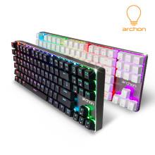 아콘 archon Aluke Pro87 QuickFire 기계식키보드 카일스피드스위치 골드청축
