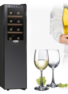 월풀 와인냉장고 HBD181WO 18병 수납 와인셀러
