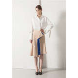 르이엘 [ Le yiel ] LIne intersection Skirt