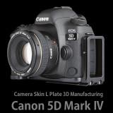 캐논 EOS 5D Mark4 카메라스킨 L 플레이트 (Black)