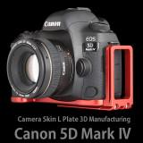 캐논 EOS 5D Mark4 카메라스킨 L 플레이트 (Red)