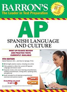 Barron's AP Spanish with MP3 CD (9th edition) (해외직수입/반품불가)