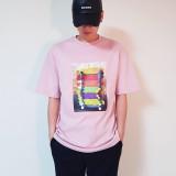 크루저오버핏 커플티 남여공용 반팔 티셔츠 4color
