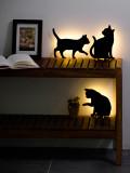 프랑프랑 고양이 LED 무드등 (Cat wall light) - 3종