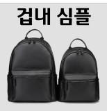 블랙블랙 소가죽 캐주얼 백팩 / Mr.Huii / 타미박스 / 가성비 인정!