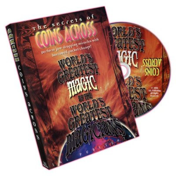 Coins Across (Worlds Greatest Magic) - DVD : Buyingday - 네이버쇼핑