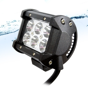 LED 써치라이트 18W 12V 24v 집중형 오프로드 방수 : 비펙몰