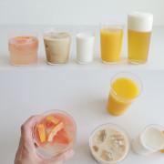 japan 도요사사키 프리미엄 유리컵(우유컵,맥주컵)