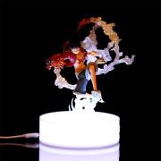 감성을 더한 셀프 인테리어 조명[쇼케이스] 피규어 스탠드 / 피규어 받침대 / 전시 스탠드 / 소품 장식조명 / 원형 LED