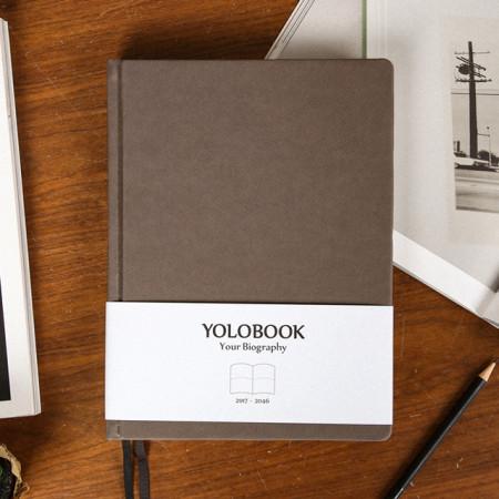 욜로북, 평생 다이어리 | YOLOBOOK, Your Biography - Single Package