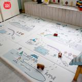 [폴더웨이]1+1 단품 북유럽스타일 디자인 감성 놀이방매트
