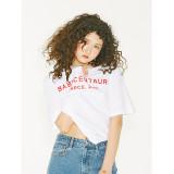 더센토르 BABY CENTAUR LOGO T-Shirt-Woman