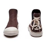 디바이디그낙 Back Lace-Up Ankle Boots BR
