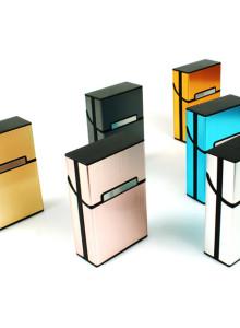 일반 담배케이스 6종 컬러 (플라스틱+메탈)