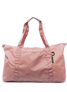 BOR-보르 여행용 폴딩 보스턴백-핑크