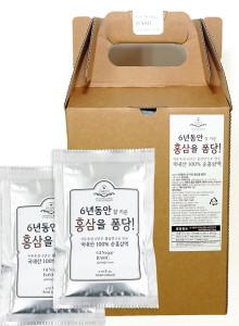 100% 국내산 6년근 홍삼액 홍삼을 퐁당! 30파우치