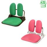 스마트 듀얼등받이 좌식의자_ 캠핑용 피크닉 tv의자 방바닥 접는 접이식 앉는의자