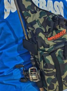 슈퍼배스 슈퍼태클백 낚시 가방