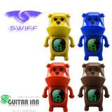 통기타튜너 / SWIFF B71 불독 튜너 / 캐릭터 튜닝기 /피크3p증정