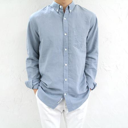 웰메이드 여름 린넨 셔츠 4color