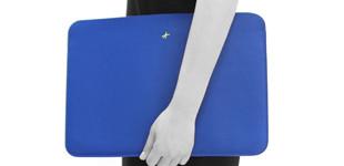 신형 맥북프로 터치바 Macbook Pro 맥북 13인치 리얼가죽 파우치(로얄포카리블루)(무료배송)