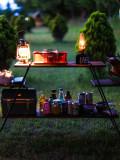 [아웃도어박스] 프리미엄 캠핑 우드쉘프 (북미산 흑호두나무 월넛) / 감성캠핑장비, 2단 우드쉘프, 3단 우드쉘프, 4단 우드쉘프, 캠핑쉘프, 우드쉘프