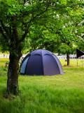 [ANUK] 아늑 수제면 텐트 8LA / 프리미엄 돔 100%코튼, 면텐트, PFOA Free, 주문자 생산방식으로 색상 선택가능한 텐트