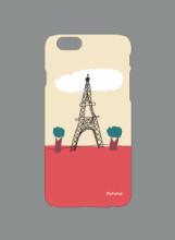 핸드폰케이스 (주황 에펠탑)