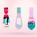 루카랩 Tie Tag 타이택 / 넥타이 모양 캐리어네임택 - 캠퍼 시리즈