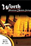 Worth Premium Ukulele String BM-LG / 워스 스트링 브라운 미디엄 로우지 스트링/ 우쿨렐레 low-g 전용