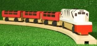 V-Train 전동원목기차놀이세트