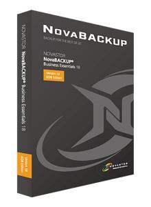[NOVASTOR] [서버용 백업 솔루션] NovaBACKUP Business Essentials 18 KOR Edition (한글/기업용/패키지)