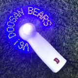 [두산베어스] 두산베어스 LED 휴대용 선풍기