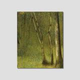 no.347 조르주 피에르 쇠라ㅣ퐁토베르의 숲