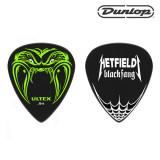Dunlop 울텍스 메탈리카 시그니쳐 기타 피크 Hetfield Black Fang PH112R /0.73 /0.94 /1.14 /일렉기타피크